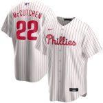 Nike Andrew McCutchen Philadelphia Phillies White Home 2020 Replica Player Jersey
