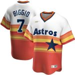 Nike Craig Biggio Houston Astros White Home Cooperstown Collection Player Jersey