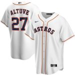 Nike Jose Altuve Houston Astros White Home 2020 Replica Player Jersey