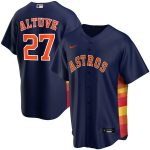 Nike Jose Altuve Houston Astros Navy Alternate 2020 Replica Player Jersey