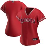 Nike Los Angeles Angels Women's Red Alternate 2020 Replica Team Jersey