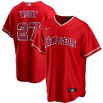 Nike Mike Trout Los Angeles Angels Red Alternate 2020 Replica Player Jersey