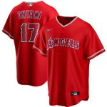 Nike Shohei Ohtani Los Angeles Angels Red Alternate 2020 Replica Player Jersey