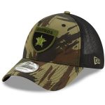 New Era Houston Astros Camo/Black Camo Crest 39THIRTY Flex Hat