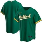 Nike Oakland Athletics Kelly Green Alternate 2020 Replica Team Jersey