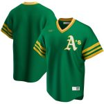 Nike Oakland Athletics Kelly Green Road Cooperstown Collection Team Jersey