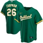 Nike Matt Chapman Oakland Athletics Kelly Green Alternate 2020 Replica Player Jersey