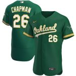 Nike Matt Chapman Oakland Athletics Kelly Green Alternate 2020 Authentic Player Jersey