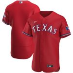 Nike Texas Rangers Red Alternate 2020 Authentic Jersey