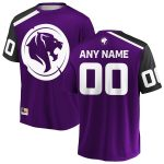 Los Angeles Gladiators Purple Overwatch League Home Custom Replica Jersey