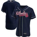 Nike Atlanta Braves Navy Alternate 2020 Authentic Official Team Jersey