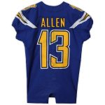 Fanatics Authentic Keenan Allen Los Angeles Chargers Game-Used #13 Blue Jersey vs. Minnesota Vikings on December 15, 2019 - 9 Rec. 99Yds