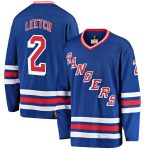 Fanatics Branded Brian Leetch New York Rangers Blue Premier Breakaway Retired Player Jersey