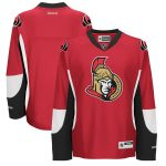 Reebok Ottawa Senators Womens Blank Premier Home Jersey - Red