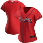 Nike Atlanta Braves Women's Red Alternate 2020 Replica Jersey