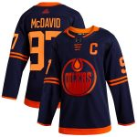 adidas Connor McDavid Edmonton Oilers Navy Alternate Authentic Player Jersey