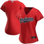Nike Cleveland Indians Women's Red Alternate 2020 Replica Team Jersey