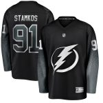 Fanatics Branded Steven Stamkos Tampa Bay Lightning Youth Black Alternate Breakaway Player Jersey