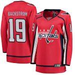 Fanatics Branded Nicklas Backstrom Washington Capitals Women's Red Home Breakaway Player Jersey