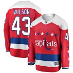 Fanatics Branded Tom Wilson Washington Capitals Youth Red Alternate Breakaway Player Jersey