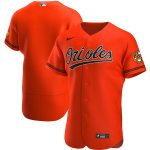 Nike Baltimore Orioles Orange Alternate 2020 Authentic Official Team Jersey