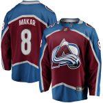 Fanatics Branded Cale Makar Colorado Avalanche Burgundy Home Premier Breakaway Player Jersey