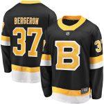 Fanatics Branded Patrice Bergeron Boston Bruins Black Alternate Premier Breakaway Player Jersey