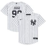 Nike Aaron Judge New York Yankees Preschool White Home 2020 Replica Player Jersey