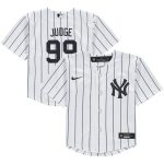 Nike Aaron Judge New York Yankees Infant White Home 2020 Replica Player Jersey