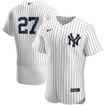 Nike Giancarlo Stanton New York Yankees White Home 2020 Authentic Player Team Jersey