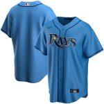 Nike Tampa Bay Rays Light Blue Alternate 2020 Replica Team Jersey