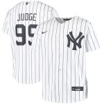 Nike Aaron Judge New York Yankees Youth White Home 2020 Replica Player Jersey