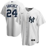 Nike Gary Sanchez New York Yankees White Home 2020 Replica Player Name Jersey