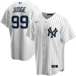 Nike Aaron Judge New York Yankees White Home 2020 Replica Player Name Jersey