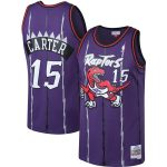 Mitchell & Ness Vince Carter Toronto Raptors Purple Big & Tall Hardwood Classics Jersey