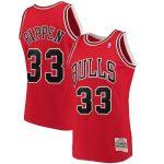 Mitchell & Ness Scottie Pippen Chicago Bulls Red Big & Tall Hardwood Classics Jersey