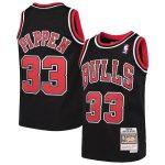 Mitchell & Ness Scottie Pippen Chicago Bulls Youth Black Hardwood Classics Swingman Throwback Jersey