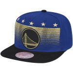 Mitchell & Ness Golden State Warriors Royal/Black The Champ Adjustable Snapback Hat