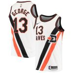 Nike Paul George LA Clippers White Hardwood Classics Swingman Jersey - Classic Edition