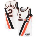 Nike Kawhi Leonard LA Clippers White Hardwood Classics Swingman Jersey - Classic Edition