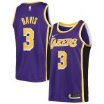 Nike Anthony Davis Los Angeles Lakers Purple 2019/2020 Swingman Jersey - Statement Edition