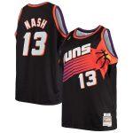Mitchell & Ness Steve Nash Phoenix Suns Black Big & Tall Hardwood Classics Jersey