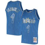 Mitchell & Ness Penny Hardaway Orlando Magic Blue 1995-96 Hardwood Classics Chinese New Year Swingman Jersey