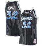 Mitchell & Ness Shaquille O'Neal Orlando Magic Black Big & Tall Hardwood Classics Jersey