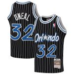 Mitchell & Ness Shaquille O'Neal Orlando Magic Youth Black 1994-95 Hardwood Classics Swingman Throwback Jersey