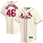Nike Paul Goldschmidt St. Louis Cardinals Cream Alternate 2020 Replica Player Jersey