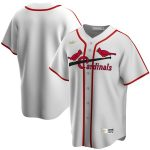 Nike St. Louis Cardinals White Home Cooperstown Collection Team Jersey