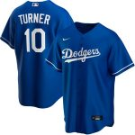 Nike Justin Turner Los Angeles Dodgers Royal Alternate 2020 Replica Player Jersey