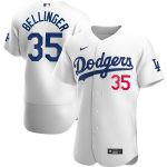 Nike Cody Bellinger Los Angeles Dodgers White Home 2020 Authentic Player Jersey