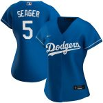 Nike Corey Seager Los Angeles Dodgers Women's Royal Alternate 2020 Replica Player Jersey